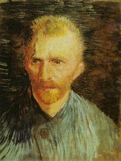 Self-portrait [27] Amsterdam Van Gogh Museum