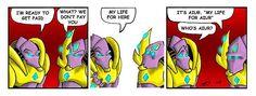 "Protoss Zealot ""My life for Aiur"", Starcraft"
