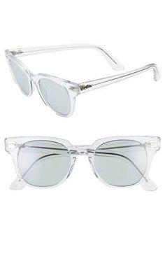 aa3a59c552ccd RAY-BAN Designer Meteor 50mm Polarized Wayfarer Sunglasses