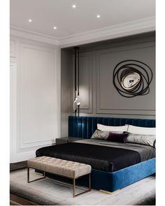 Most Design Ideas Modern Elegant Bedroom Design Pictures, And Inspiration – Modern House Modern Elegant Bedroom, Elegant Bedroom Design, Elegant Home Decor, Master Bedroom Design, Home Decor Bedroom, Rustic Modern, Cosy Bedroom, Contemporary Bedroom, Bedroom Designs