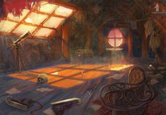 ArtStation - Mysterium locations set 1, Igor Burlakov (Dartgarry)