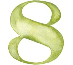 Watercolor Numbers by Giuseppe Salerno, via Behance