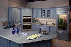 Moderner Kühlschrank mit Glastür - 25 Ideen für ein brilliantes Haus