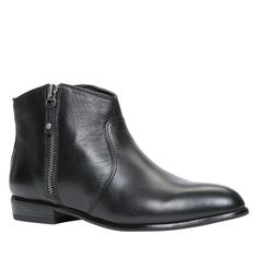 Ankle Boot black leather