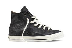 Converse Chuck Taylor Moto Leather Collection.