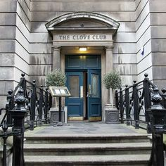 Head to the Clove Club in #London for small bites of locavore esoterica, such as gull's eggs with lovage.