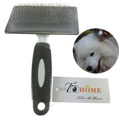 T-HOME Dog Brush for Shedding, Pet Gromming Kit for Cats, Self Cleaning Brush from Short to Long Hair, Reduce Bacteria *** You can find more details by visiting the image link.