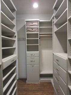 Closet Creations built this custom closet! Master