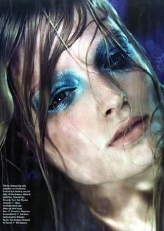 Vogue Italia Beauty, May 2012  Melissa Tammerijn - Model  Melanie Huynh - Fashion Editor/Stylist  Nicolas Jurnjack - Hair Stylist  Dotti - Makeup Artist  Brenda Abrial - Manicurist