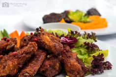 Photos for restaurants Břevnovka www. Marinated Chicken Wings, Tandoori Chicken, Restaurants, Ethnic Recipes, Photos, Food, Pictures, Essen, Restaurant