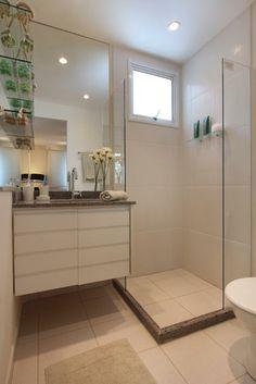 Banheiro decorado do Ways Vila Sônia