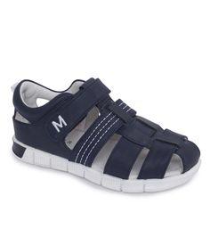 Bebé niño Oficial español Genuino Cuero Zapatos De Verano Beige Blanco Azul Marino Sandalias