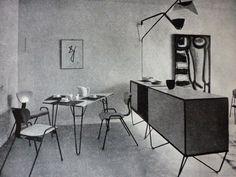 Appartement temoin Anvers , 1953, Willy van der Meeren