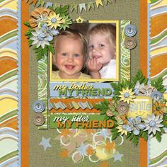 Layout using {Me Too} Digital Scrapbook Kit by designs by Mandy King http://store.gingerscraps.net/Me-Too-Page-Kit.html and {Grow Like A Weed} Template Pack 2 by Aprilisa Designs http://store.gingerscraps.net/Grow-Like-A-Weed-Template-Pack-2.html