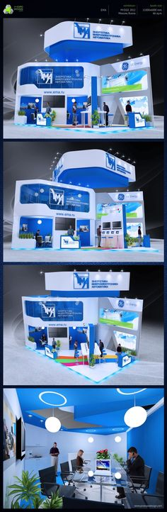 EMA exhibition booth design on Behance