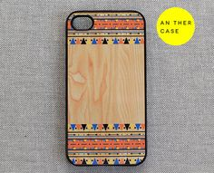 iphone 4 case iphone 4s case  wood print Aztec by AnotherCase, $14.99