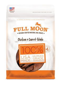 Full Moon All Natural Human Grade Chicken and Sweet Potato Dog Treats * Special dog product just for you. See it now! : Dog Food