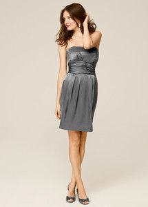 SELLING this bridesmaid dress!  BRAND NEW with TAGS // GREY // Size 2 // has NOT been altered // $99 :)