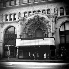 The Million Dollar Theater, Downtown Los Angeles