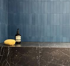 Home Interior Design Our marvelously matte cement tiles in midnight blue will knock your socks off .Home Interior Design Our marvelously matte cement tiles in midnight blue will knock your socks off Layout Design, Tile Design, Bathroom Interior, Home Interior, Interior Design, Up House, Bathroom Inspiration, Bathroom Ideas, Bathroom Trends