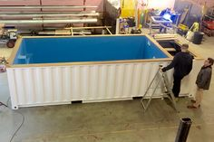 About Us | Shipping Container swimming Pools | UK
