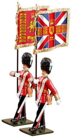 Britains new toy soldiers.