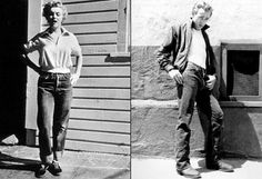 In the 1950s James Dean and Marilyn Monroe decided to wear Levi's. From that moment on, the jean transcended its basic nature to become a symbol of youth and anti-establishment.