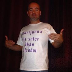 Marijuana is Safer than Alcohol. #SaferShirts #SaferWA #SaferTriCities