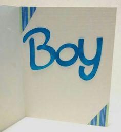 It's a boy card (inside)