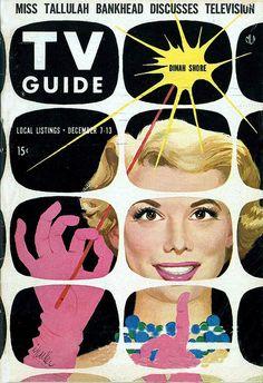 TV Guide  Illustrated by Al Parker  December 1957