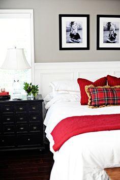 Easy DIY Holiday Bedroom Makeover - Entertain | Fun DIY Party Craft Ideas