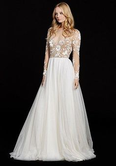 Hayley Paige Remmington / Style 6553 Wedding Dress - The Knot- Probably the most gorgeous dress I've ever seen