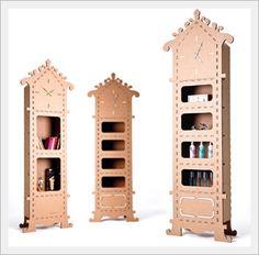 Paper Furniture for Kids -papaclock-