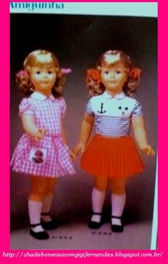 bonecas Amiguinha, Estrela, 1985 #PattiPlaypal
