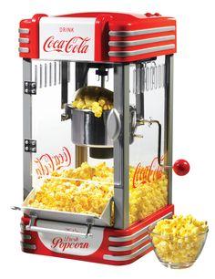Nostalgia Electrics Coca-Cola Series Kettle Popcorn Maker & Reviews | Wayfair