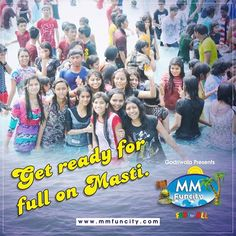 Planning some adventure for this #weekend? Tag your #friends who will be joining you ! Get ready for full on #Masti. #MMFunCity #Fun #waterpark