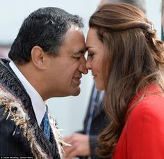 4/14/14 Kate attends a ceremony in Christchurch, New Zealand, for those who died in the 2011 earthquake.