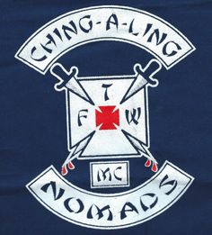 Ching-A-Ling Nomads MC (Motorcycle Club) – One Percenter Bikers – Best Motorcycles Biker Clubs, Motorcycle Clubs, Motorcycle Vest, Motorcycle Leather, Mc Logo, Outlaws Motorcycle Club, Old Motorcycles, Hells Angels, Biker Patches