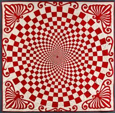 Vortex Quilt 1800s this is just awesome!!