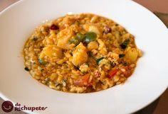 Un clásico en nuestra cocina, arroz con bacalao. ¿Os animáis este finde a prepararlo? http://www.recetasderechupete.com/arroz-con-bacalao/10586/ #derechupete