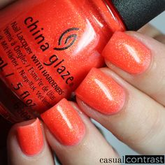 China Glaze Lite Brites for Summer 2016: Swatches & Review • Casual Contrast