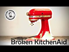 Kitchenaid Stand Mixer, Good Birthday Presents, Do It Yourself Projects, Kitchen Aid Mixer, Restoration, The Creator, Workshop, German, Channel