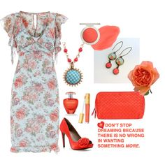 Summer Coral - Polyvore