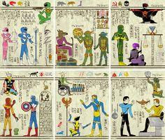 Josh Lane - Hieroglyphics #kitsch #escapismo #ilustrador #sobreconsumo