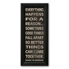 Art.com Everything Happens Framed Art Print by N. Harbick