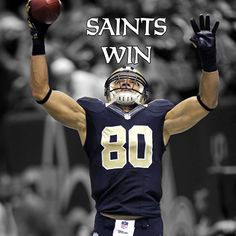 SAINTS WIN! Saints beat the previously undefeated Falcons 31-27!