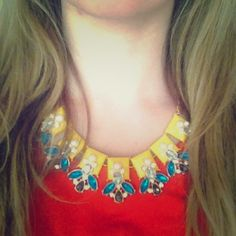 "Spotted while shopping on Poshmark: ""Summery Sparkle Necklace""! #poshmark #fashion #shopping #style #Jewelry"