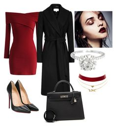 """Untitled #25"" by ipekttl on Polyvore featuring Chicwish, Hermès, Christian Louboutin and Charlotte Russe"