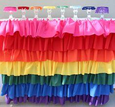 The Rainbow Tea Party