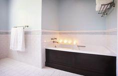 wainscoting bathroom - Google Search